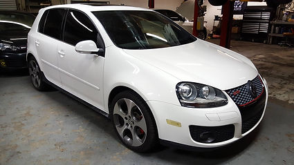 Volkswagen VW GTI White German Autohaus Chattanooga Tennessee European Repair Parts