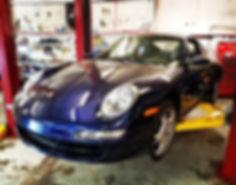 2006 Porsche 911 997 Carrera S Blue Sachs Clutch LUK DMF Flywheel German Autohaus of Chattanooga Tennessee European Repair Performance Parts Service