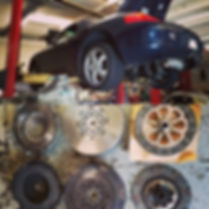 1999 Porsche Boxster 987 Clutch Replacement Service Maintenance Repair Parts German Autohaus Chattanooga Tennessee Performance Blue