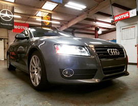2012 Audi A5 2.0T Quattro in for an oil