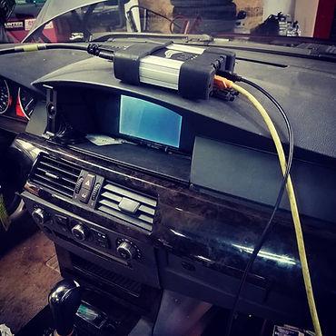 2006 BMW 530Xi German Autohaus Chattanooga Tennessee Programming Coding ISTA E61 Service Maintenance