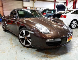 2008 Porsche 987 Boxster in for an oil s