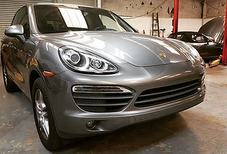 Porsche Cayenne S German Autohaus Chattanooga Tennessee European Parts Repair