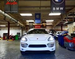 2014 Porsche Cayenne getting ready for h