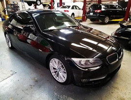 2011 BMW E92 335i in for ABS and DME tro