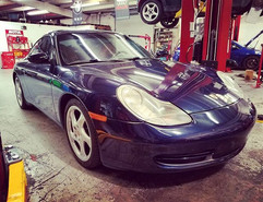 Prepurchace inspection on a 2000 Porsche