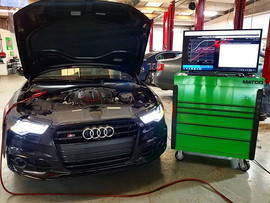 2014 Audi S6 4.0T in for an APR Stage 1