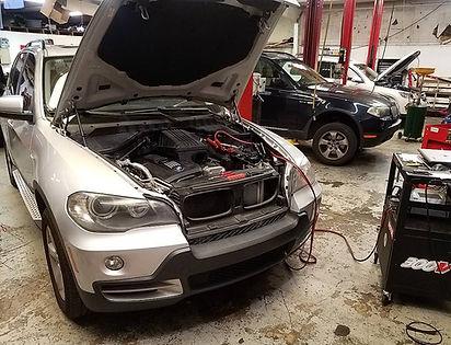 German Autohaus Chattanooga Tennessee BMW X5 X3 Service Maintenance Motul Programming Coding