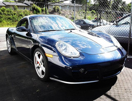2007 Cayman S in for regulator replaceme