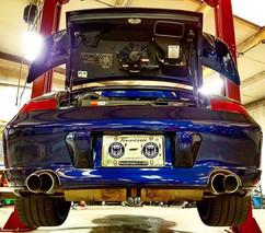 Porsche 996 Turbo goodness at German Aut