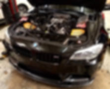 2013 BMW M5 S63 Spark Plug Maintenance Service German Autohaus Chattanooga Tennessee V8 European