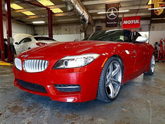 A Dinan Stage2 2011 BMW Z4 35is in for a