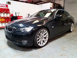 2010 BMW 335i in for ISTA fuel injector