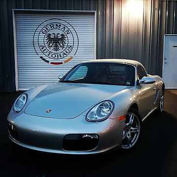 Porsche Boxster 986 German Autohaus Chattanooga Tennessee European Car Repair Parts