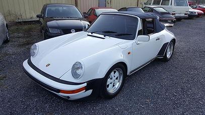 Porsche 911 Targa German Autohaus Chattanooga Tennessee European Car Repair Parts
