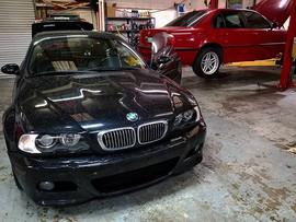 Here come the E chassis!__A 2003 BMW E46