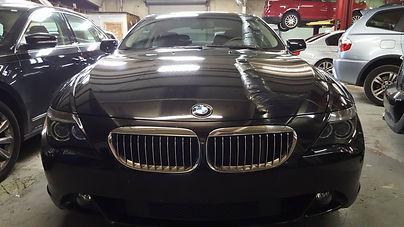 BMW 645i German Autohaus Chattanooga Tennessee European Car Repair Parts