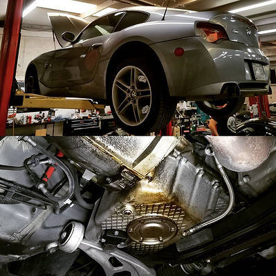 2007 BMW M Coupe Oil Change Motul 8100 Xcess 5W40 Inspection German Autohaus of Chattanooga Tennessee Service Repair
