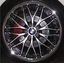 BMW Chrime wheel rim E90 German Autohaus Chattanooga Tennessee European Car Repair Parts