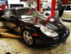 2002 Porsche 911 996 M96 IMS Bearing Inspection Oil Analysis  Motul 8100 Xcess 5W40 Dealer German Autohaus of Chattanooga Tennessee Service Maintenance Repair Performance Parts Black