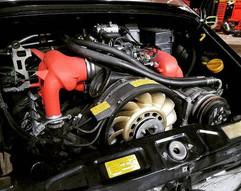 964 power steering flush and reservoir r