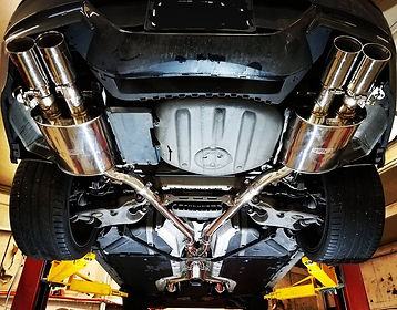 2009 BMW M6 German Autohaus Chattanooga Tennessee Exhaust E63 Service Maintenance Horsepower Tuning