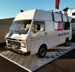 Audi Sport LT35 Restoration Project.__Or