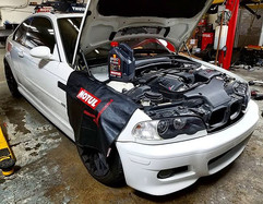 One slick Dinan tuned 2003 BMW E46 M3 in
