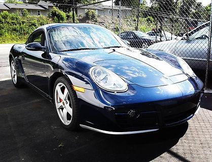2007 Porsche Cayman S German Autohaus Chattanooga Tennessee European Car Repair Parts Maintenance Repair Blue