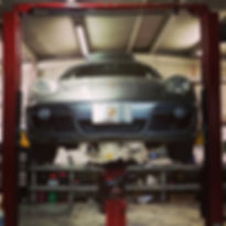 2008 Porsche Cayman 987 Inspection Oil Change Motul 8100 Xcess 5W40 German Autohaus of Chattanooga Tennessee Service Maintenance Repair Performance Parts Silver