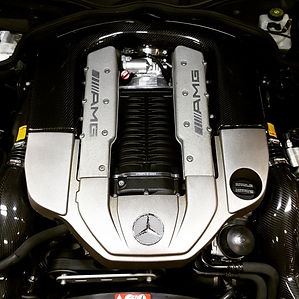 Mercedes E55 AMG Engine Motor German Autohaus Chattanooga Tennessee European Car Repair Parts SLK