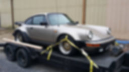 Porsche 930 911 at German Autohaus of Chattanooga Tennessee for repair Turbo Black Maintenance European Car