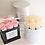Thumbnail: Petite Luxury Box Rose Hatbox Arrangement Customizable Label