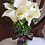 Thumbnail: Calla Lily Cream Real Touch Silk Wedding Bouquet