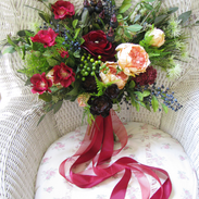 Marsala Boho Bouquet