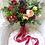 Thumbnail: Marsala Rustic Boho Hand Tied Silk Wedding Bouquet
