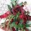Thumbnail: Rose and Dahlia Marsala Burgundy Hand Tied Silk Wedding Bouquet