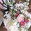 Thumbnail: English Rose Ranunculus Hand Tied Silk Wedding Bouquet