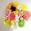 Thumbnail: Petite Luxury Box Mixed Flower Bouquet Hatbox Arrangement Customizable Label