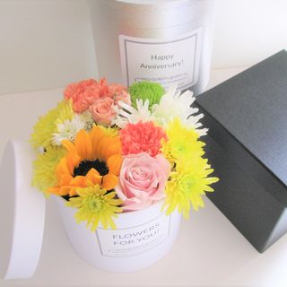 Luxury Hatbox Arrangement