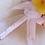 Thumbnail: Fuchsia Pink Orchid and Plumeria Silk Wedding Bouquet