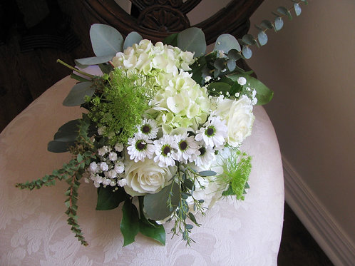 Elopement Bridal Bouquet and Boutonniere Package