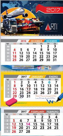 Calendario personalizad