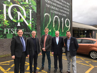 Murdo and Jackson visit Pitlochry Festival Theatre