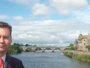 Murdo Fraser MSP welcomes Perth and Kinross not being put in Tier 3 Covid restrictions