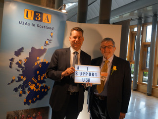 Learning in later life with U3A gains support from Murdo