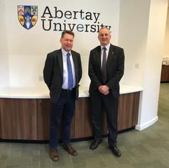 Abertay University Visit