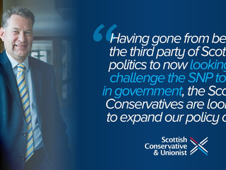 Scottish Conservatives set up new expert group to look at growth