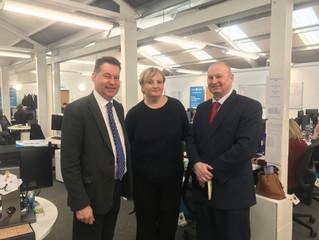 Scottish Conservatives praise Blairgowrie firm Castle Water