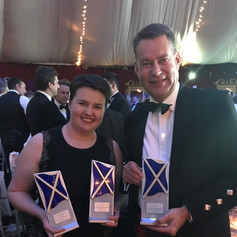 With Ruth Davidson MSP at the Scottish Politician of the year awards night